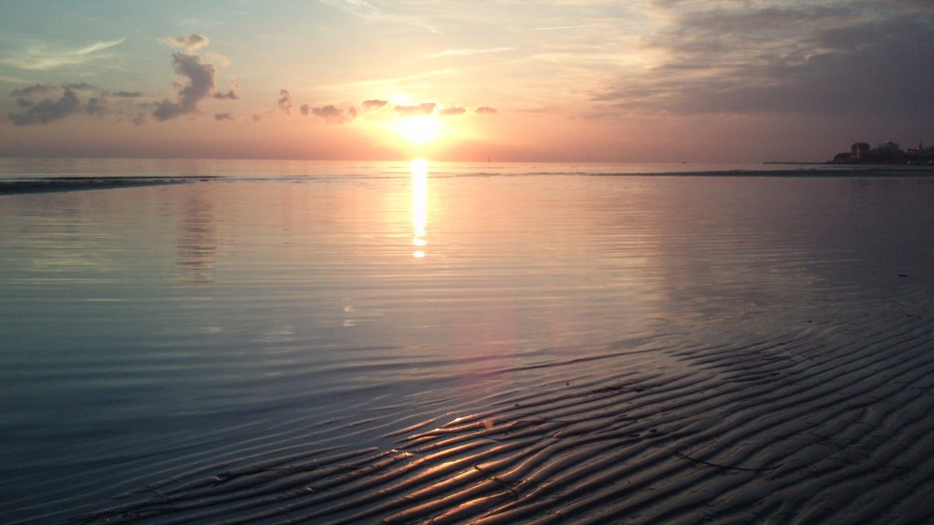 Sonnenuntergang Grado